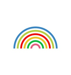 Rainbow-380x400 vector image