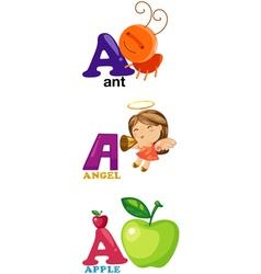 Alphabet letter - a vector