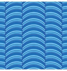 Seamless striped abstract pattern vector image