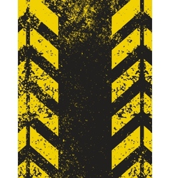 Worn hazard stripes texture vector