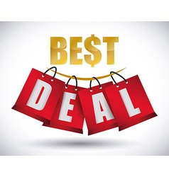 Best deal design vector image