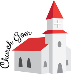 Church goer vector