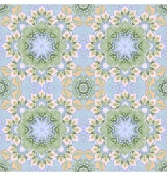 Ethnic floral seamless pattern Abstract vector image