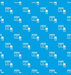 memory card pattern seamless blue vector image
