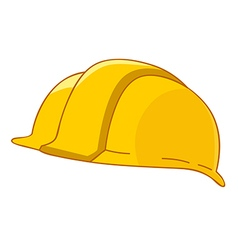 Safety hat vector