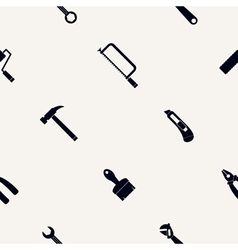Seamless abstract background with handling tools vector