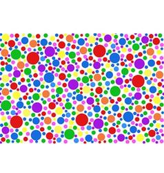 Colored specks vector