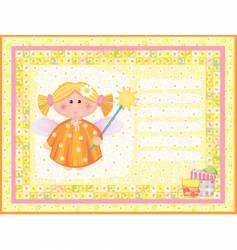 angel character vector image vector image