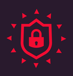 Cybersecurity icon vector