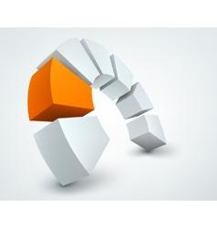 3d shapes vector