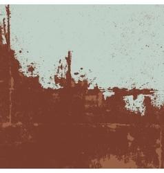 Rusty texture grunge background vector