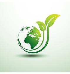 green earth3 vector image