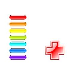 medical pills vector image