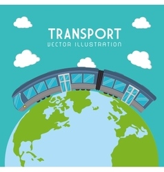 Transport delivery and shipping vector
