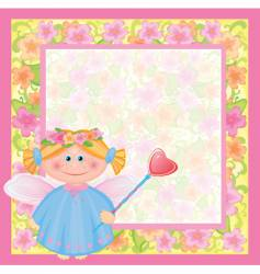 angel character vector image