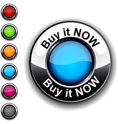 Buy it now button vector