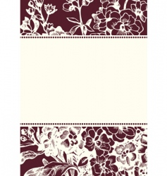 Daisy background and frame vector