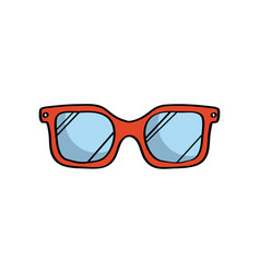 Glasses icon image vector