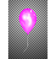 Pink air balloon eps10 vector