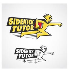 Sidekick Tutor Symbol vector image vector image