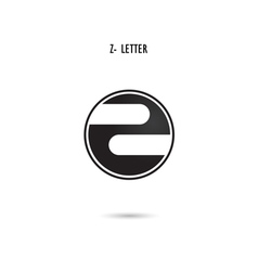 Z-letter abstract logo vector image