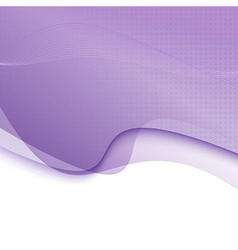 Modern purple transparent background template vector image