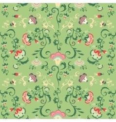 Seamless oriental tribal pattern vector