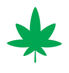 Cannabis icon vector