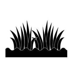 Grass with ground vector