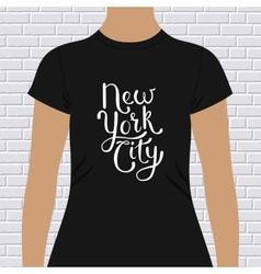 New york city t-shirt design vector