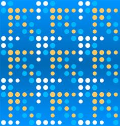 Dotted arrows pattern vector