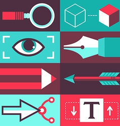 Graphic design concept vector
