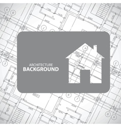 Monochrome architecture background vector