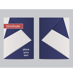 France 2016 Football Brochure Flyer design Layout vector image