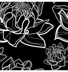 Flower seamless 12 vector