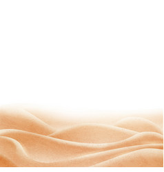 background with sand border vector image