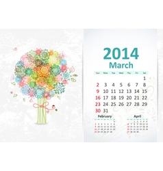 Calendar 2014 3 03 vector