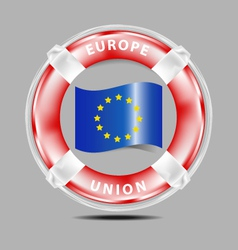 Save Europe Union vector image vector image