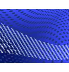 blue spots vector image