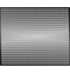 metal sheet dotted texture vector image vector image