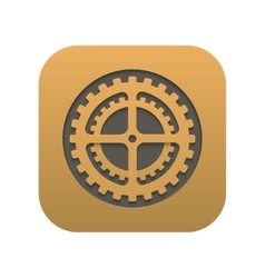 Modern mechanism icon app isolated on white vector