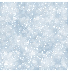 new year background with stars and sparkles vector image