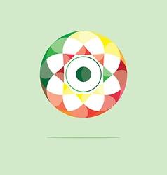 Ball Color Logo vector image vector image
