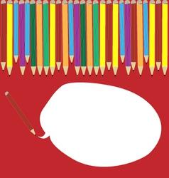 Colour pencils can speak vector