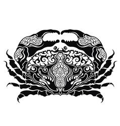 crab drawing vector image