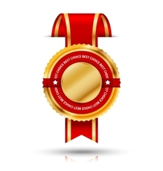 Cut through the wall premium golden and red best vector