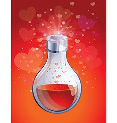 Love elixir vector