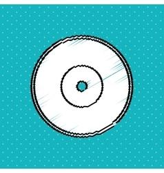 Record icon design vector