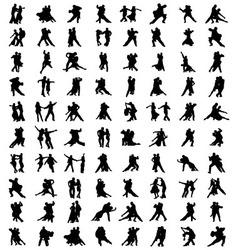 tango players vector image vector image