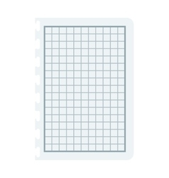 Notebook papers with lines and grid vector
